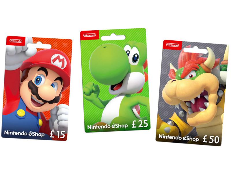 Nintendo eShop Gift Card, The Key Gamer, thekeygamer.com